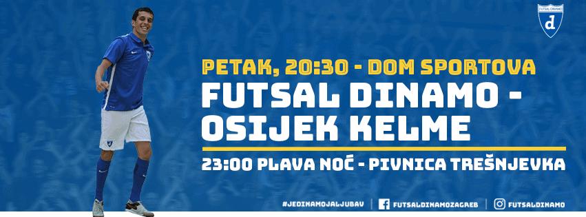 Originalna i raritetna akcija Futsal Dinama