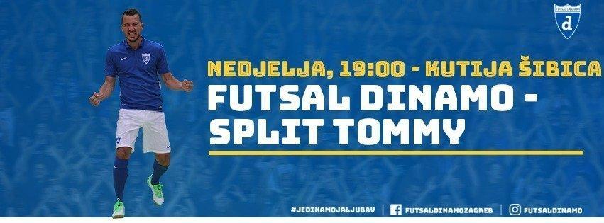 Veliki derbi u legendarnoj Kutiji šibica: Futsal Dinamo – Split Tommy