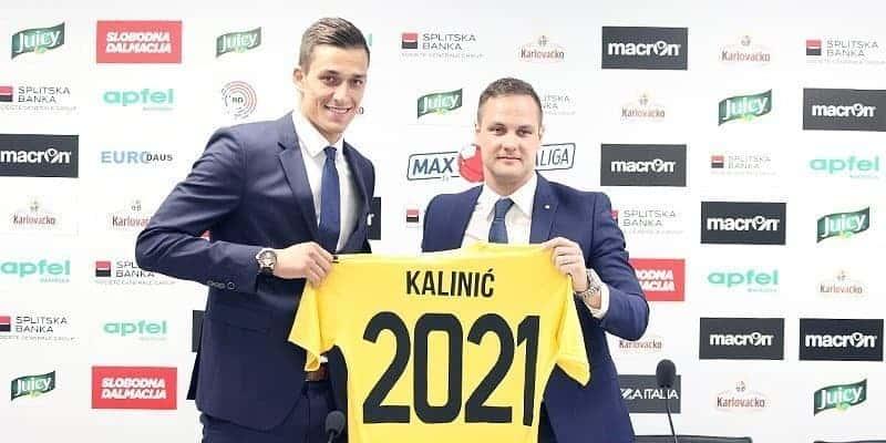 """Kalinić: """"Počašćen sam, novi ugovor puno znači za mene i moju obitelj"""" (VIDEO)"""