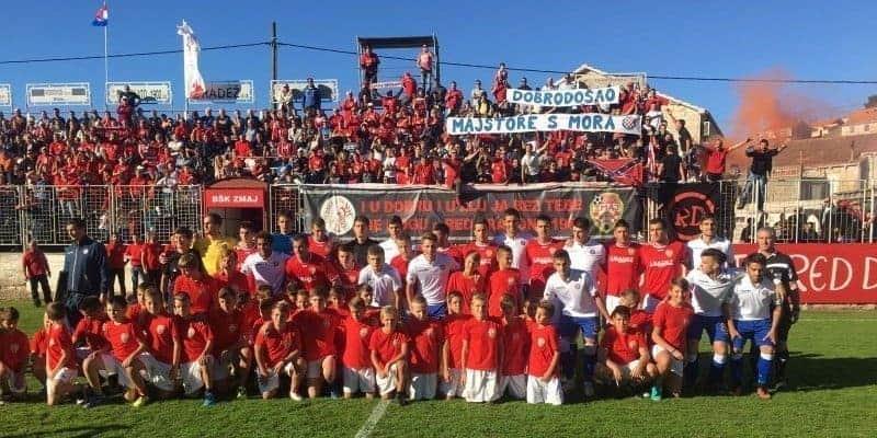 Hajduk uveličao proslavu BŠK Zmaja s Korčule (VIDEO)