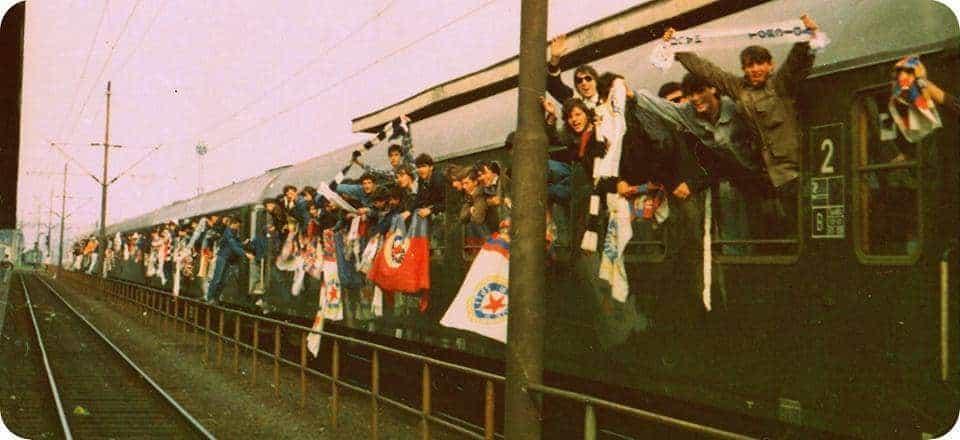 Torcida za utakmicu s Dinamom organizira Bili vlak