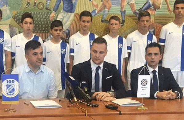 Hajduk i Junak potpisali ugovor o suradnji (VIDEO)