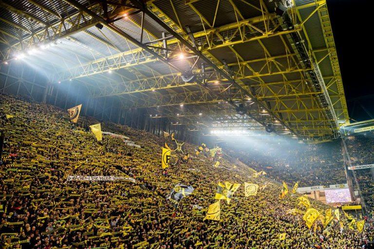 Borussia Dortmund, žuti zid