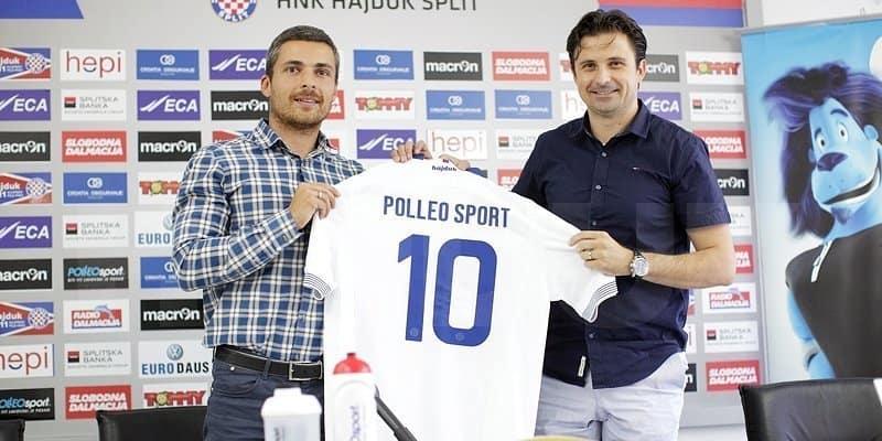 Hajduk potpisao ugovor s Polleo Sportom
