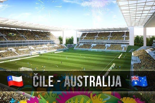 Čile-Australija 3:1, pratite uživo taktički prijenos
