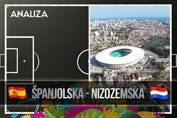 Analiza utakmice Španjolska-Nizozemska 1:5