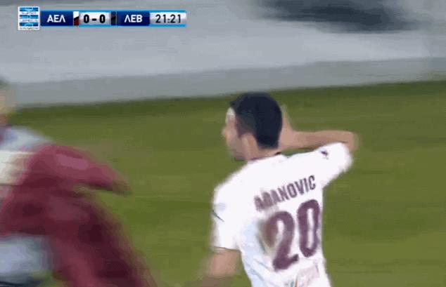 Aganović strijelac u debiju za AEL Larissu (VIDEO)