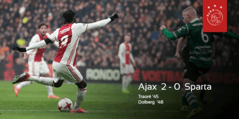 Majstorija Bertranda Traorea u pobjedi Ajaxa nad Spartom Rotterdam (VIDEO)