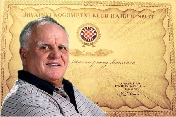 Jako Andabak više nije dioničar Hajduka, Tommyu još 0.47% nedostaje do četvrtine Hajduka