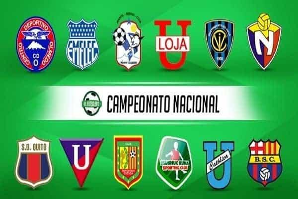 Ekvador – Campeonato Nacional s Barcelonom, vojnim i studentskim klubom..