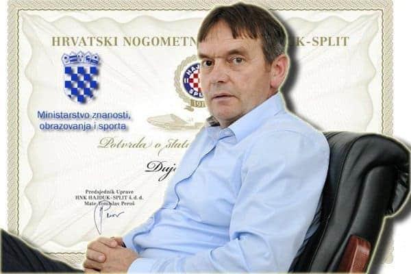 Tommy ne može kupiti preko 25% dionica Hajduka bez dozvole Povjerenstva MZOS-a