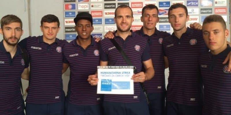 """Hajdukovci podržali akciju """"Trčimo za obrok više"""""""