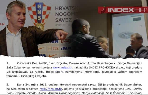 Novinari Index.hr-a kazneno prijavili Šukera i HNS
