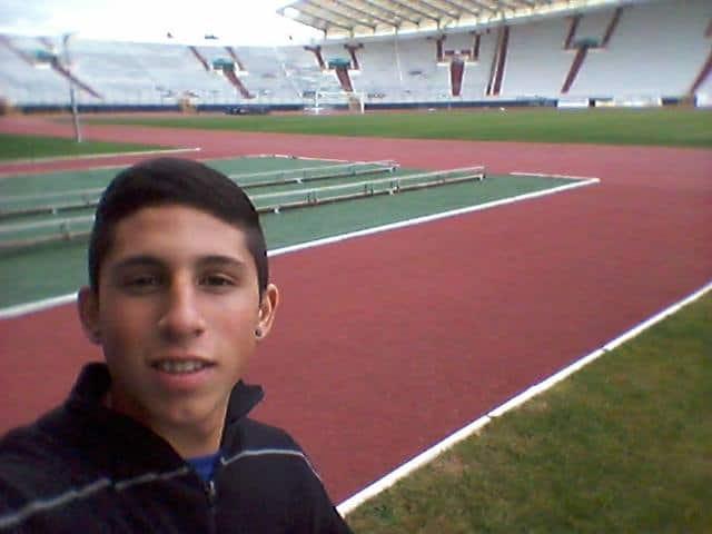 Maxi Rueda na probi u Hajduku