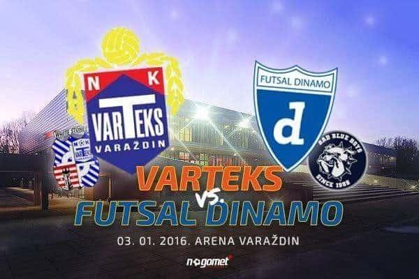 Varteksu u goste dolazi Futsal Dinamo: prijateljski ogled dvaju sociosa