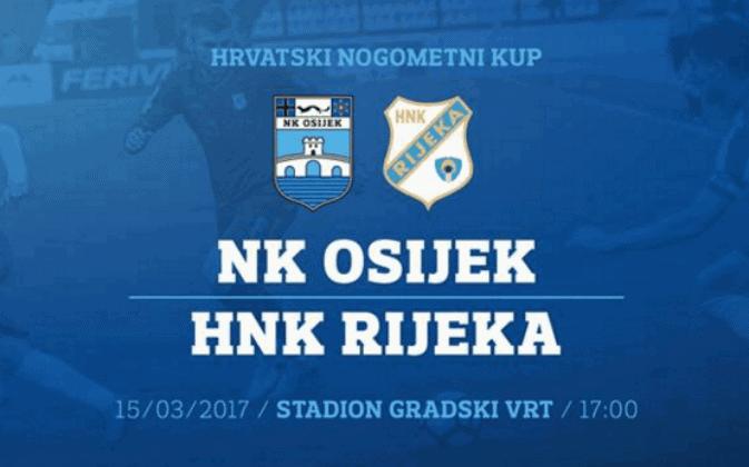 Samodestrukcija Osijeka, Rijeka pobjedom potvrdila 'kartu' za Varaždin (VIDEO)