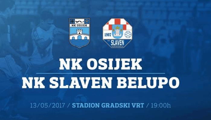 Osijek pobjedom nad Slavenom ponovno bodovno izjednačen s Hajdukom (VIDEO)