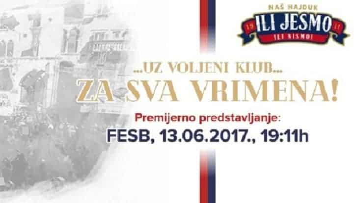 """Naš Hajduk: Dođi na FESB, uključi se u projekt """"Za sva vrimena!"""" i odmah preuzmi knjigu Bili dres u boji!"""