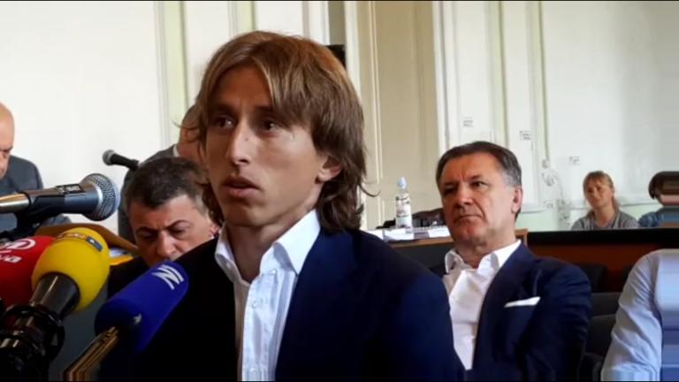 Luka Modrić Zdravko Mamić