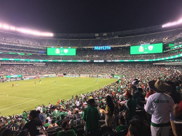 Meksiko Irska MetLife Stadion