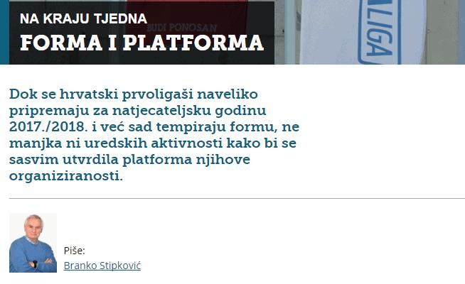 Stipković likuje: HNS počeo provoditi Zakon o sportu