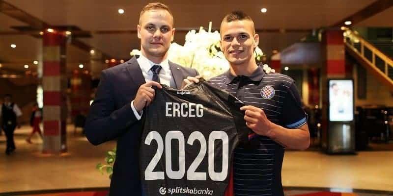 Ante Erceg produžio ugovor s Hajdukom