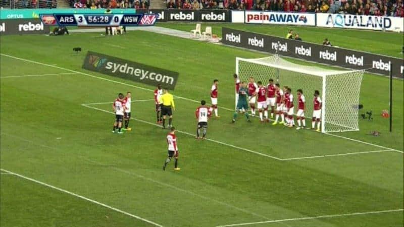 Luštica zabio Arsenalu, Topnici slavili na australskoj turneji (VIDEO)