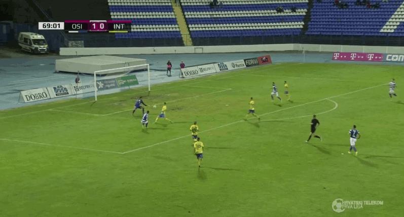 Osijek u drugom poluvremenu slomio otpor Inter i upisao važnu pobjedu (VIDEO)