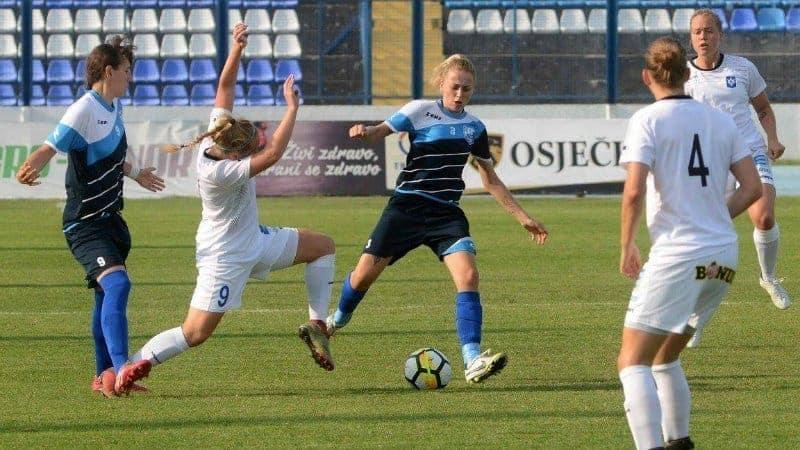 Nogometašice Osijeka bez završnice Lige prvaka