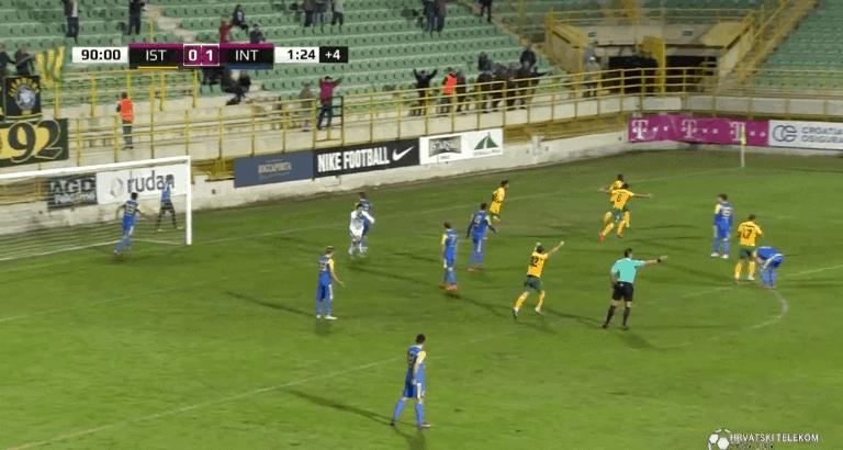 Prvijenac Ofosua u 92. minuti za remi u Puli (VIDEO)