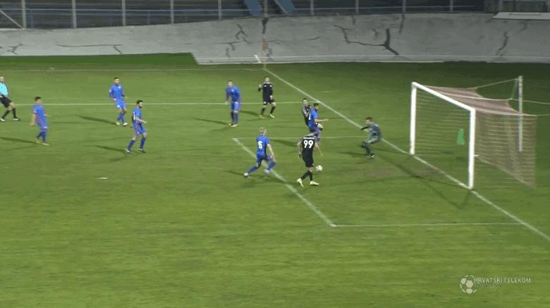 72. HNL pogodak Krstanovića za minimalnu pobjedu Lokomotive (VIDEO)