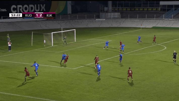 Visoka pobjeda Rijeke protiv Rudeša; Sluga igrač utakmice (VIDEO)