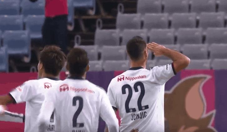 Jonjićev šesti pogodak u još jednom preokretu Osake (VIDEO)