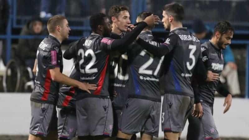 Hajduk slavljem u Gradskom vrtu izborio polufinale Kupa (VIDEO)