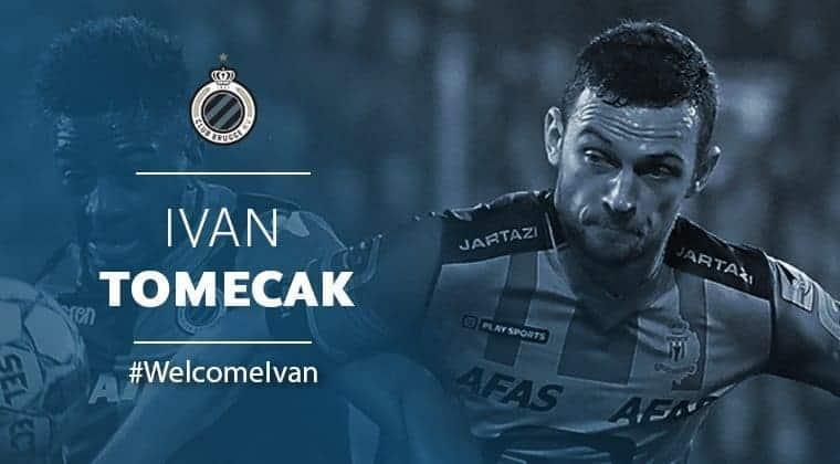 Ivan Tomečak prešao u Club Brugge