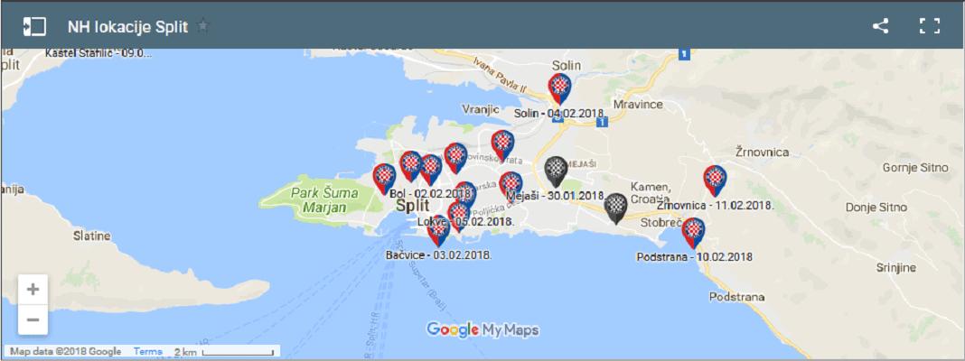 SPLITSKI ĐIR: I ovog vikenda možete donirati i učlaniti se na više lokacija u Splitu