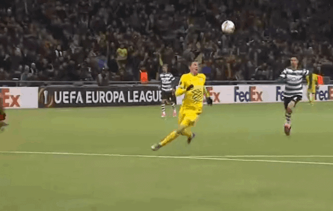 Tomasov strijelac za vodstvo Astane protiv Sportinga (VIDEO)