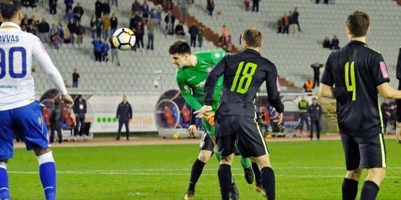 Letica u posljednjim trenucima donio pobjedu Hajduku (VIDEO)