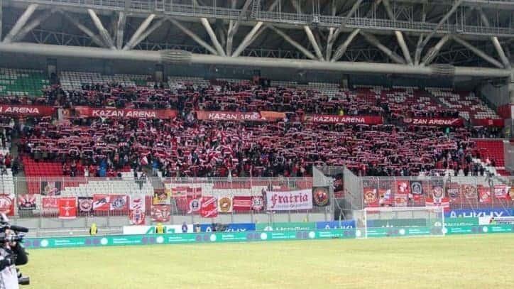 Ruska liga se ispričala navijačima zbog kasnog ulaska na stadion