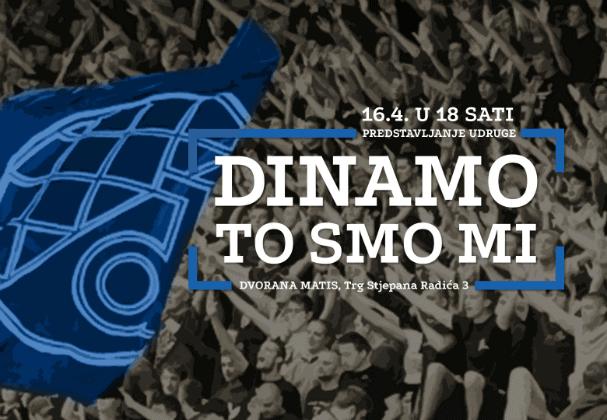 Predstavljanje udruge 'Dinamo to smo mi'