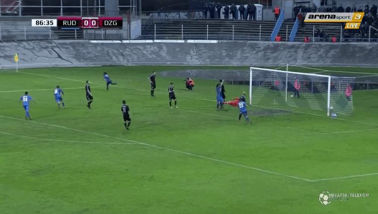 Rudeš nakon Osijeka, Rijeke i Hajduka svladao i Dinamo (VIDEO)