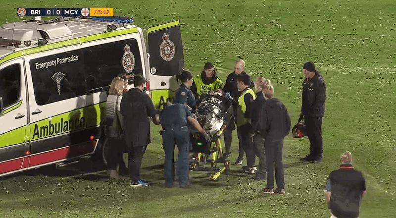 Šok u Australiji: Brattan nakon 44 minute iznesen s terena (VIDEO)
