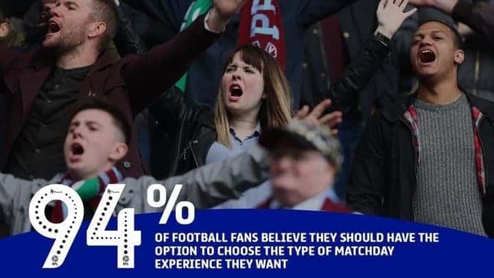 Stajaće tribine se uskoro vraćaju u Englesku; FA također podržao želju navijača i klubova
