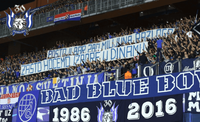 BBB: Vratite Dinamo Dinamovcima