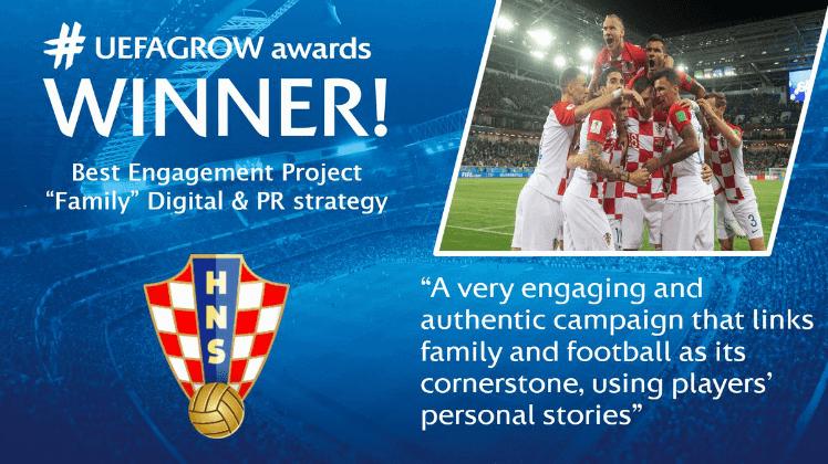 HNS osvojio nagradu u kategoriji povezanosti i interakcije s navijačima; digitalne povezanosti, naravno…