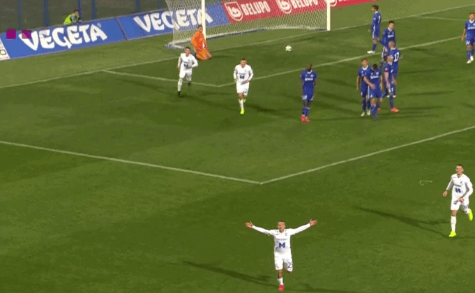 Osijek se slavljem u Koprivnici vratio na treće mjesto lige (VIDEO)