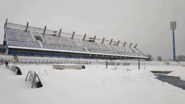 Zbog snijega odgođen i susret između Osijeka i zaprešićkog Intera