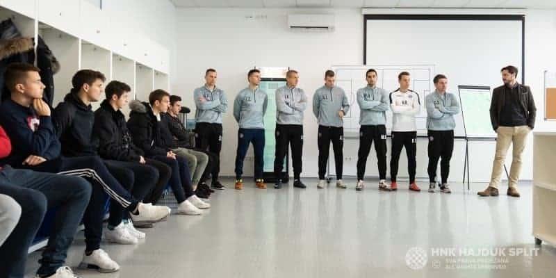 Bez Saida, Filipa, Memolle i Šehića Hajduk započeo pripreme za nastavak sezone (VIDEO)