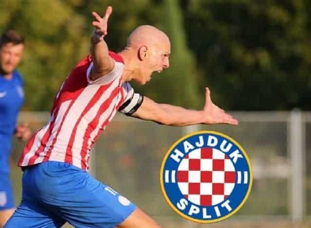 Mario Marović na probi u Hajduku II