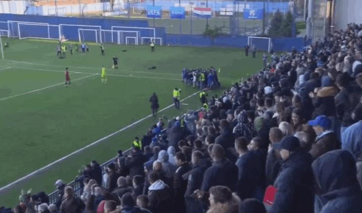 Dinamo u četvrtfinalu juniorske Lige prvaka (VIDEO)